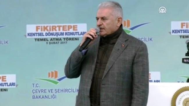 """Başbakan Binali Yıldırım, """"Şimdi söz milletindir"""""""