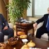 Başkan Erdem'i MHP İlçe Başkanı Danacıoğlu ziyaret etti
