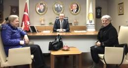 Başkan Önerge, emeklilerin isteğini Başkan Hızır'a iletti