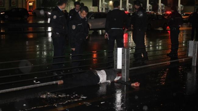 Polisten kaçarken araba çarptı