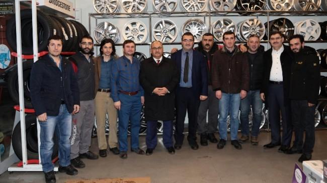 Ümraniye esnafı, Belediye Başkanı Hasan Can'dan memnun