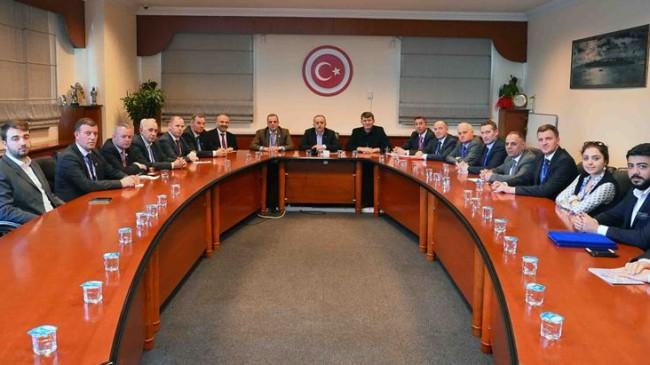 Başkan Çağırıcı, Kosova heyetini ağırladı