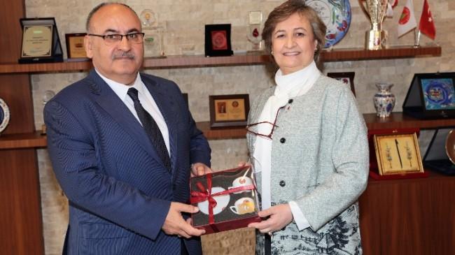 AK Parti Milletvekili Satır, Başkan Can'ı ziyaret etti