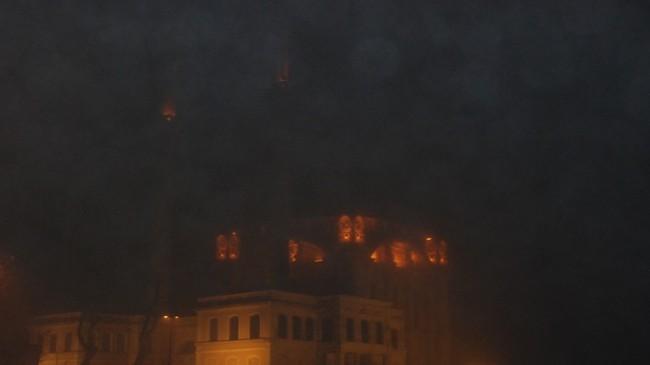 İstanbul'u sis bastı