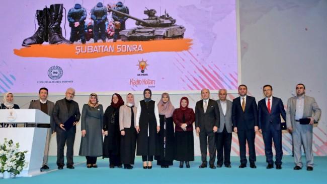 """İstanbul'un AK Kadınları """"28 Şubat""""ı unutmadı, unutmayacak"""
