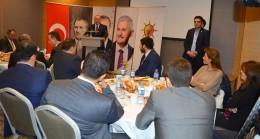 AK Parti Kadıköy, Bakan Çavuşoğlu'nu ağırladı