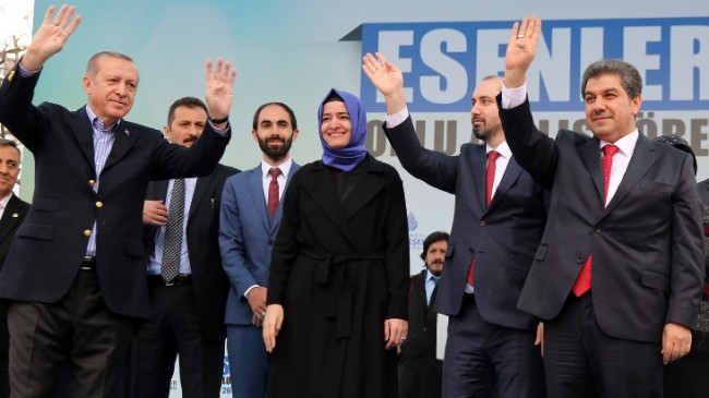Cumhurbaşkanı Erdoğan, Esenler'de 17 dev eseri açtı