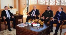 Başkan Erdem'e Sancaktepe protokolünden hayırla olsun ziyareti