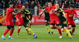 Ümraniyespor, lider Malatyaspor'u yenerek Süper Lig'e göz kırptı