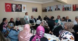 AK Parti Milletvekili Satır ile Başkan Can, teşkilatla buluştu