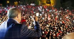 """Cumhurbaşkanı Erdoğan, """"Atı alan Üsküdar'ı geçti haberiniz yok"""""""