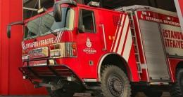 Bağcılar'da bir AVM'de yangın çıktı