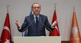 """Erdoğan, """"Bu partiye sırtını dönüp de iflah olan kimse görmedik"""""""