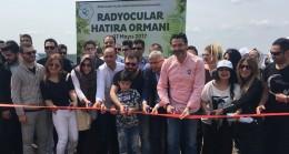 Beykoz Belediyesi'nden radyoculara hatıra ormanı