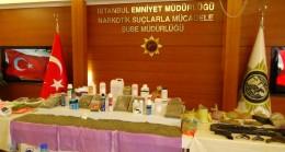 İstanbul'da uyuşturucuyla mücadele sürüyor