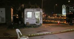 Ümraniye'de taksi durağına silahlı saldırı, 1 ölü