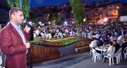 Üsküdar Belediyesi'nin büyük ailesi gönül sofrasında buluştu