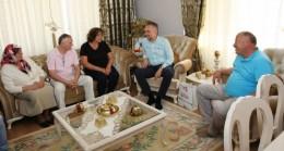 Başkan Poyraz ziyaretlerini sürdürüyor