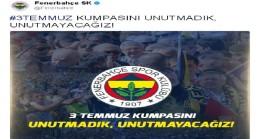 Fenerbahçe FETÖ kumpasını unutmadı!