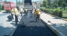 İBB'den ilçelere asfalt yardımı