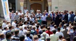 Bakan Bak, Esenler'de vatandaşlarla buluştu