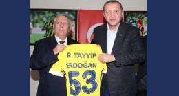Cumhurbaşkanı Recep Tayyip Erdoğan Fenerbahçe'yi tebrik etti
