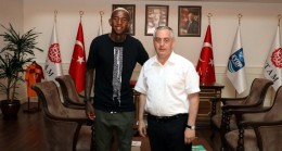 Talisca ile Başkan Remzi Aydın anlaştı