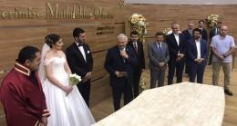 Başbakan Binali Yıldırım Çekmeköy'de nikah şahidi oldu