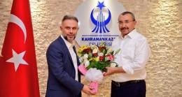 Başkan Erdem, Başkan Ertürk'ü ziyaret etti