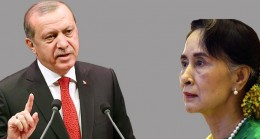 Cumhurbaşkanı Erdoğan, Aung San Suu Kyi'ye ayar verdi