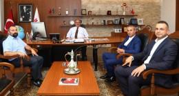 Elmalıkent Mahalle Muhtarı Demiral, Başkan Can'ı ziyaret etti