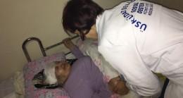 Üsküdar Belediyesi'nden yatağa bağlı hastalara evde sağlık hizmeti