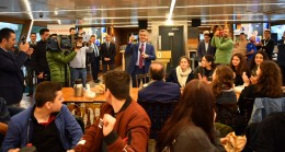 Başkan Türkmen, Vali Sultan Gemisi ile öğrencileri ağırladı