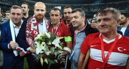 Bilal Erdoğan da Ampute Milli maçında idi