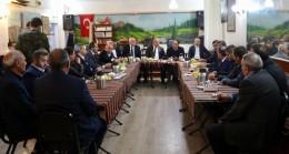 Başkan Hasan Can, il dernek başkanlarıyla bir araya geldi