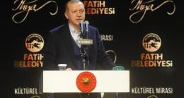 """Cumhurbaşkanı Erdoğan, """"Ecdadın emanetlerine sahip çıkmaya çalışmaktayız"""""""