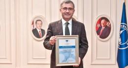 Girişimci dostu Üsküdar Belediyesi'ne Avrupa'dan birincilik ödülü