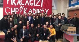 Aykurt Nuhoğlu'na CHP'li gençlerden tepki!