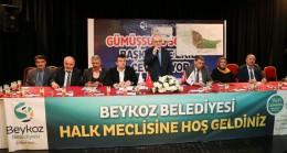 Başkan Çelikbilek, Beykoz'un yeni imarını Beykozlulara anlatmaya devam ediyor