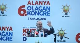 """Mevlüt Çavuşoğlu, """"Bugün CHP'nin içerisinde PKK ve DHKP-C'li milletvekilleri var"""""""