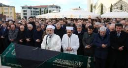 Cumhurbaşkanı Erdoğan, yol arkadaşı İbrahim Çağlar'ı ebediyete uğurladı
