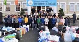 Başkan Türkmen, çevreci dostu Yavuztürklü öğrencileri şampiyon ilan etti