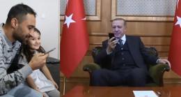 Cumhurbaşkanı Erdoğan, ağlayan o kızı aradı!