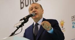 """Cumhurbaşkanı Erdoğan, """"Millî mücadelede karşımıza kim çıkarsa çıksın ezer geçeriz"""""""