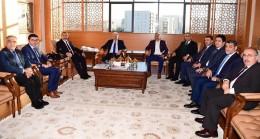 İBB Başkanı Uysal'dan belediye ziyaretleri