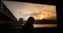 İstanbul'da gün batımı ambiyansı