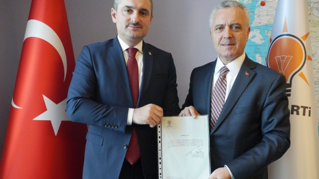 Bayram Şenocak, İl Başkanlığına atandı