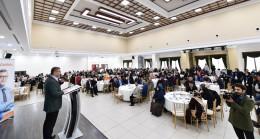 Başkan Türkmen, üniversite adayı öğrenciler ve aileleriyle buluştu