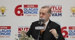 """Cumhurbaşkanı Erdoğan, """"Biz bu ülkeyi sokakta bulmadık, meydanı kanı bozuklara bırakmayacağız"""""""