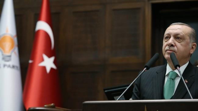 """Cumhurbaşkanı Erdoğan, """"CHP'nin adeta izini takip ettiği HDP adında bir de ikizi var"""""""